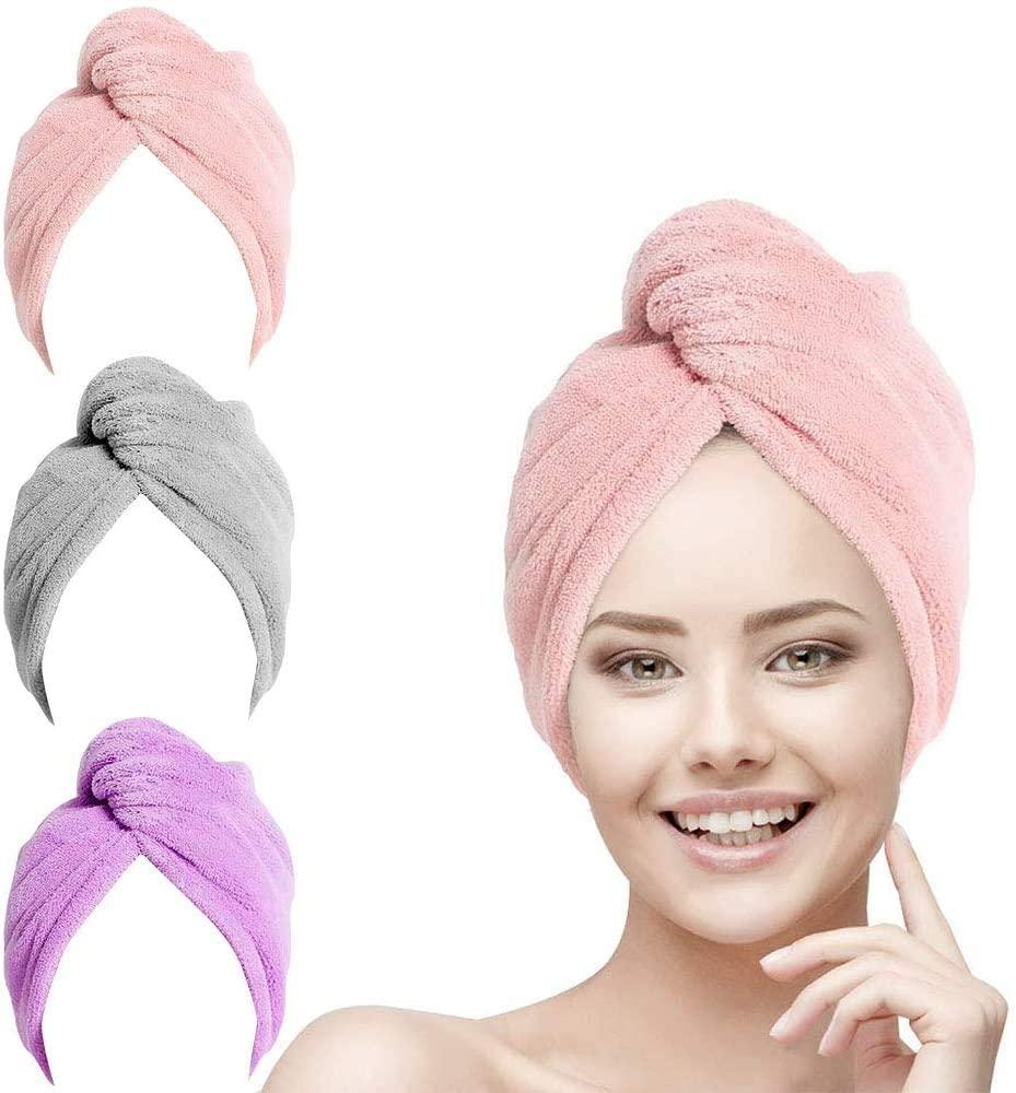 toalla de microfibra para el cabello