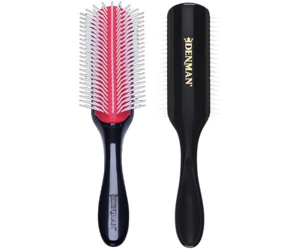 cepillo denman cabello rizado
